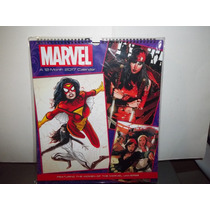 Calendario Women Of Marvel Universe Mujeres Marvel Comics