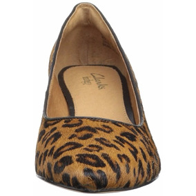 Zapatos Clarks Dama Animal Print Talla 36 1/2