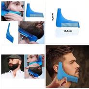 Pente Barba E Bigode Alinhador Aparador Modelador
