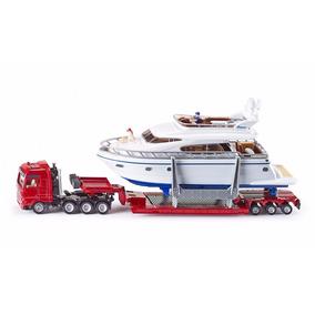 Siku Camion Pesado De Transporte Con Yate Metal 1:50