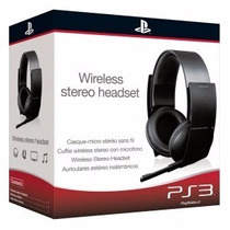 Headset Stereo Wireless Pulse Original Sony Ps4. Ps3 E Pc