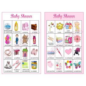 Loteria Baby Shower 80 Cartas