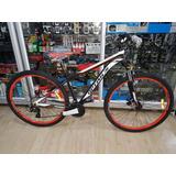 Bicicleta Optimus Sirius 29 Grupo Shimano Hidraulico 24v