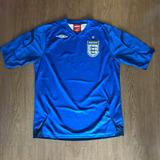 3e252ec6a7 Camisa Seleção Inglaterra 2006 - Camisas de Futebol Azul no Mercado ...