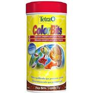 Ração Tetra Colorbits Granules 75g Acará Bandeira E Discos