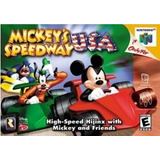Juego De Nintendo 64,mickey Racing Usa Sin Calcomanía.