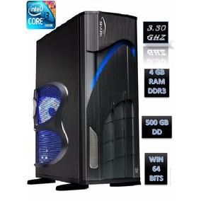 Cpu I3 500gb De Dd, 4gb De Ram Unico