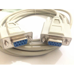 Cable Serial Db9 Hembra A Hembra Pc Rs232 Null 1.2 Metros