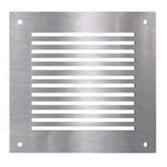Rejillas Para Ventilación Muebles, Hogar Acero Inox. 10 X 10