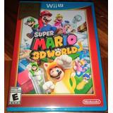 Super Mario 3d World - Wii U - Nuevo - Envio Gratis.