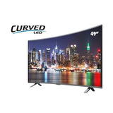 Pantalla Sankey 49 Curved, Smart Tv, Full Hd