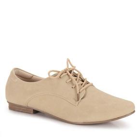 Sapato Oxford Feminino Facinelli - Nude