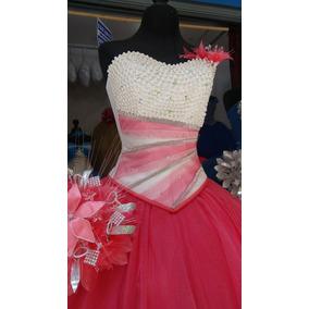 Vestido De Xv Años Modelo 5021 En Varios Colores