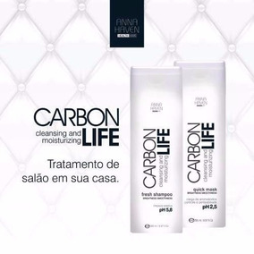 Anna Haven Carbon Life (kit Shampoo 295ml + Máscara 295ml)