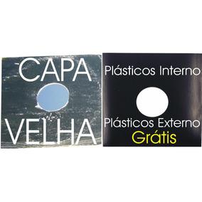 Capas Pretas Lp Dj12 Vinil Disco Novela .+ Plás.grátis