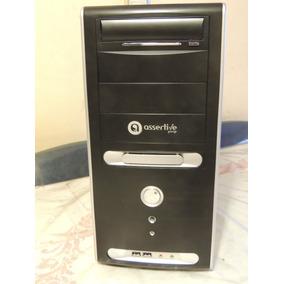 Gabinete Assertive 8024 Sin Fuente 4 Cooler Impecable C/nuev