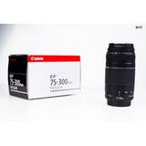 Lente Canon75-300 Ef Excelente Estado Canon 7d,t3i,t5,t5i