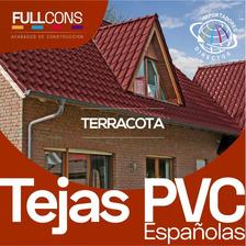 Tejas Española En Pvc Distintos Colores