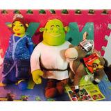 Boneco Shrek Princesa Fiona Burro