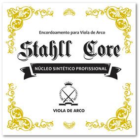 Encordoamento Profissional Perlon Viola De Arco Stahll Core