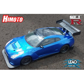 Hi9102gtr - Automodelo Á Combustão Himoto Nissan Gtr Motor
