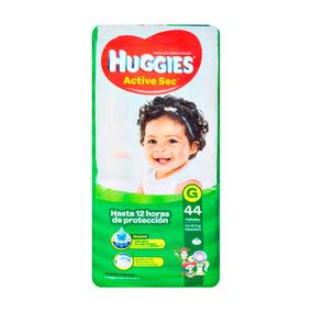 Pañales Huggies Active Sec G 9-12,5kg X 44u.