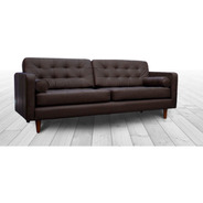 Sofa Piel Genuina 100% - Noruega - Contado