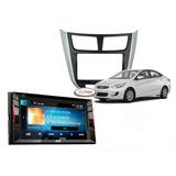 Radio Táctil Hyundai Accent 2011+ Jvc Kw-v240bt + Panel/ Zf