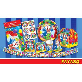 Platos Vasos Dulcero Todo Para Tu Fiesta De Payasos