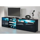 Mesa Modular Panel Tv Lcd 1.80 X 55 Modelo Sanders 2 Megacel
