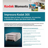 Impresora Kodak 305 Termal + Software De Autogestión Para Pc