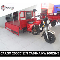 Motocarro Kingway Caja Larga 700 Kg 200 Cc
