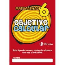 Objetivo Calcular 6 (castellano - Material Comp Envío Gratis