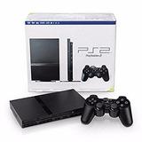 Playstation 2 Slim Nuevo + Chipeado + Pes 17