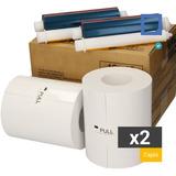 2 Insumos Termales Impresora Fotografica Kodak 305 Print Kit