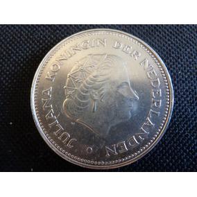Linda E Rara Moeda Holanda 02 Caras- 38 Mm-moeda Autêntica.