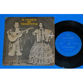 Teixeirinha - A Musica De Teixeirinha - Compacto - 1973