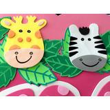 Figura De Animales De La Selva Safari Hechos En Foami