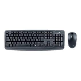 Teclado + Mouse Kit Genius Kit Km130 Usb Negro Tienda Genius