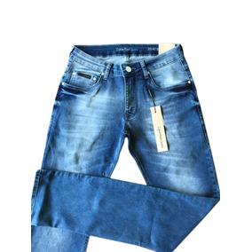 Calça Masculina Jeans Calvin Klein Skinny Original Stretch