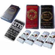 Pack 4 (400 Gr) Chocolates (80,85,90,96 %) + 4 Coco 50g