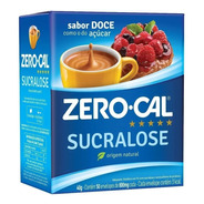 Adoçante Zero Cal Sucralose Pó C/ 50 Envelopes