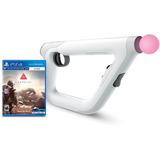 Playstation Vr Aim Controller+farpoint Stock Entrega Inmed.