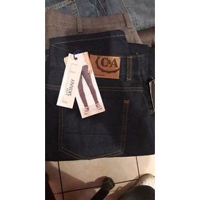 Pantalon C&a Nuevo Talla 34 100%original Barato Corte Slim
