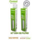 Kit C/ 2 Refil Filtro Purificador Consul Bem Estar Facilite