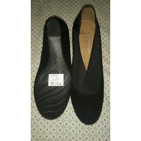 Zapatos Clarks Dama Negros Gamuzados Talla 8 Originales