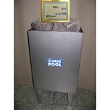 Calefactor Para Sauna En Acero Inoxidable 6kw Con Tablero