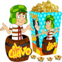 Kit Imprimible El Chavo Del 8 Candy Bar Y Cotillon 2x1
