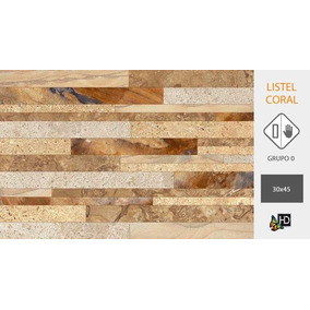 Ceramica Cortines Listel Coral 45x30 1º. Precio Por Caja!!!
