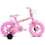 Bicicleta Infantil Aro 12 Fofys Rosa Verden Bikes